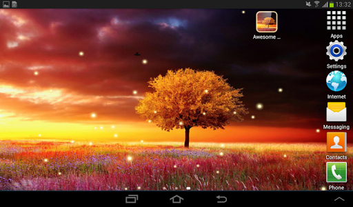 Awesome-Land Live wallpaper HD : Grow more trees screenshots 13