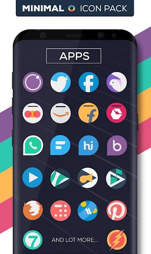 Minimal O - Icon Pack apktram screenshots 4