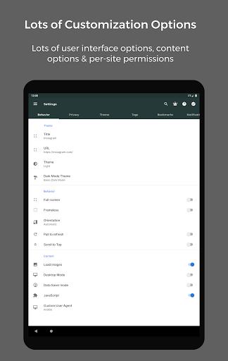 Hermit u2022 Lite Apps Browser 18.4.1 Screenshots 6