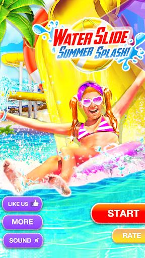 Water Slide Summer Splash - Water Park Simulator apkmr screenshots 14