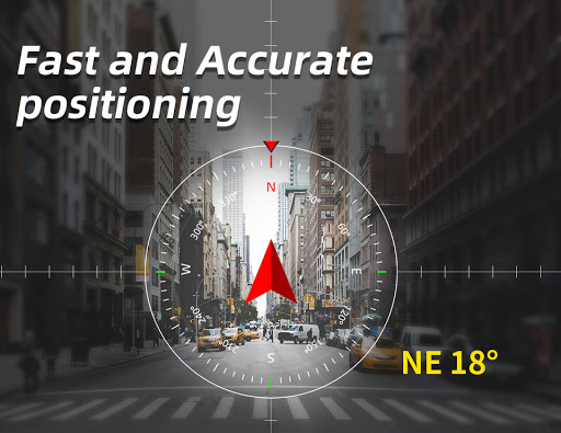 Portable GPS Compass & Bubble Level modavailable screenshots 4