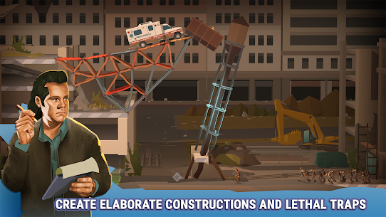 Bridge Constructor: The Walking Dead MOD (Levels Unlocked) 3