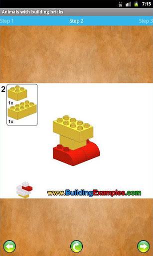 Animals with building bricks  screenshots 2