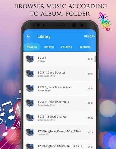 Voice Changer - Audio Effects 1.7.4 Screenshots 7
