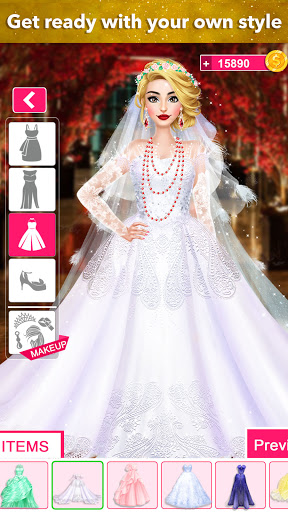 Fashion Wedding Dress Up Designer: Games For Girls 0.14 screenshots 2