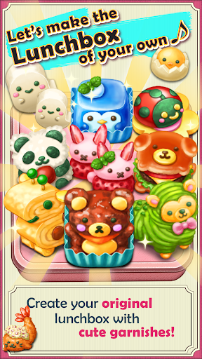 Fluffy! Cute Lunchbox  screenshots 1