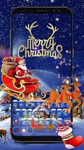 Animated Christmas Keyboard Theme 1