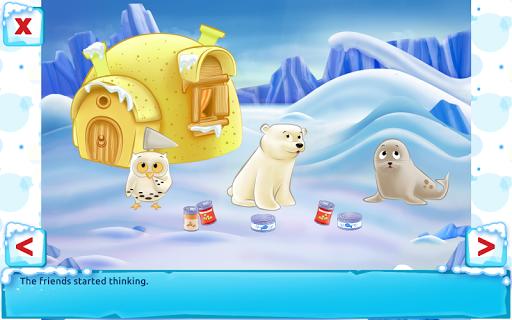 Polar Bear Cub - Fairy Tale with Games Free  screenshots 10
