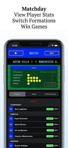 Retro Football Management - Be a Football Manager  screenshots 6