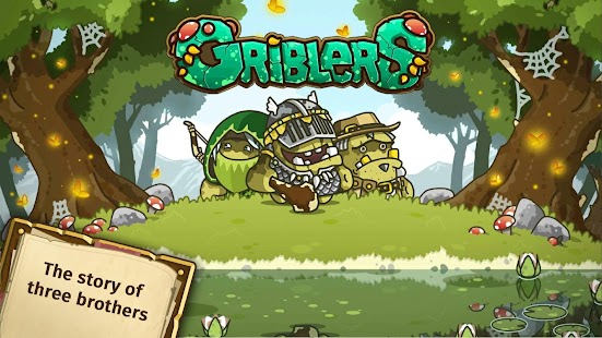 Griblers - rpg offline turn based game Screenshot