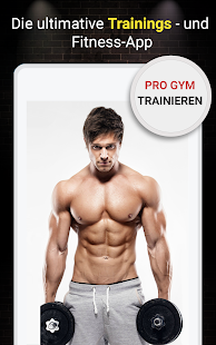 Pro Fitness-Studio Workout (Fitness-Training) Screenshot