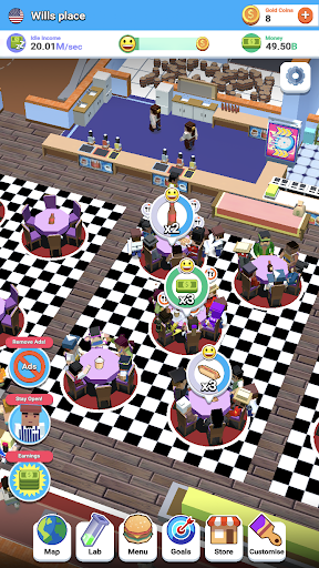 Idle Diner! Tap Tycoon 51.1.154 screenshots 7