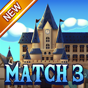 Jewel Royal Castle: Match3 puzzle