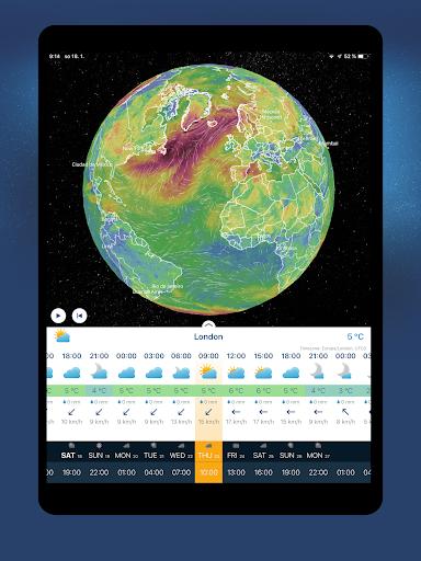 Ventusky: Weather Maps 14.0 Screenshots 11