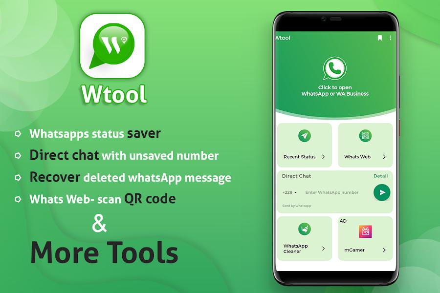 wTools - Toolkit for WhatsApp