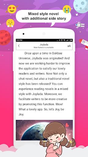 Joylada - Read All Kind of Chat Stories apktram screenshots 6