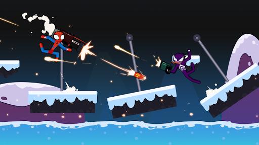 Spider Stickman Fighting - Supreme Warriors screenshots 9