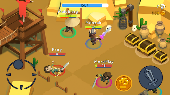 HeadHunters io Mod Apk (Unlimited Gold/ Unlocked Character) 9