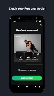 Fitplan: Home Workouts and Gym Training Screenshot