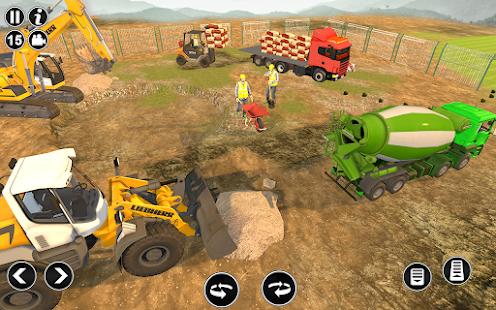 Road Construction Simulator - Road Builder Games  Screenshots 13
