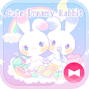 Pastel colors Wallpaper Cute Dreamy Rabbit Theme