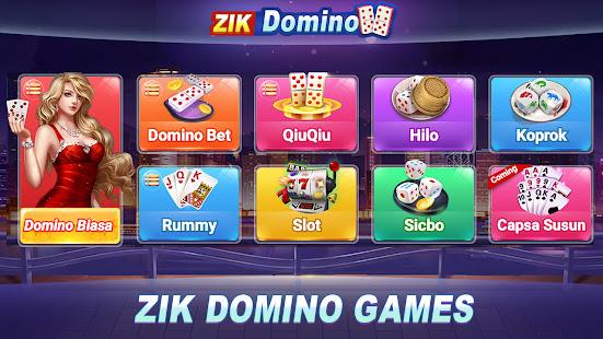 Domino Rummy Poker Sibo Slot Hilo QiuQiu 99 Gaple 2.0.4 screenshots 1