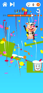 Happy Cow - Draw Line Puzzle