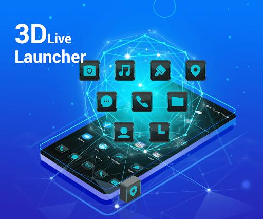 Download APK: 3D Launcher – Your Perfect 3D Live Launcher v4.9 [Premium]