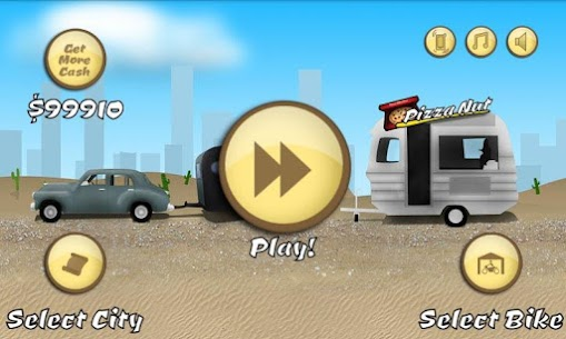 Pizza Bike Delivery Boy APK 1.165 (Unlimited Money) Download for Android 4