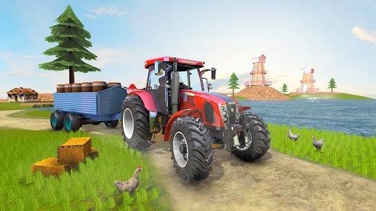 Real Tractor Farmer Simulator: Tractor Games 4