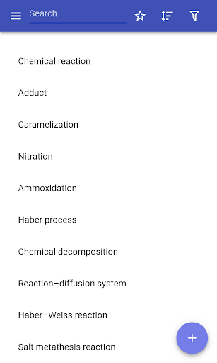 Chemical reactions  screenshots 1