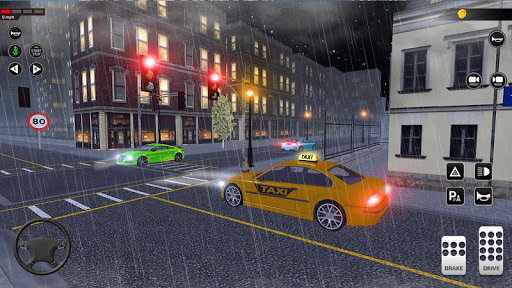 City Taxi Driving simulator: PVP Cab Games 2020 apktram screenshots 4