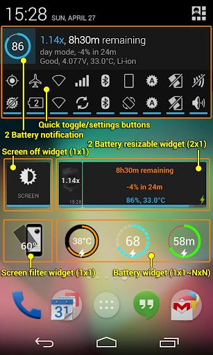 2 Battery Pro - Battery Saver ss3