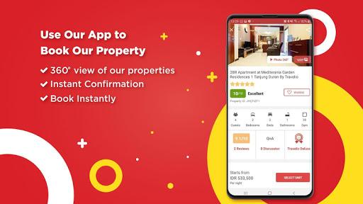 Travelio - Sewa Apartemen Harian Bulanan & Villa 2.31 screenshots 3