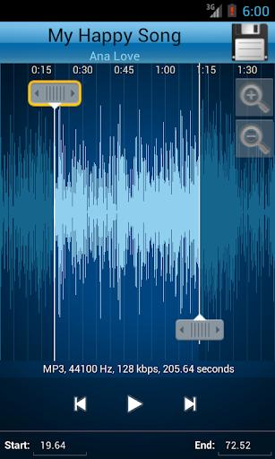 MP3 Cutter and Ringtone Makeru266b 2.5 Screenshots 3