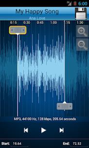 MP3 Cutter and Ringtone Maker MOD (Premium/Unlocked) 3