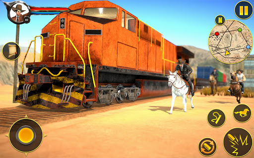 Cowboy Horse Riding Simulation apktram screenshots 10