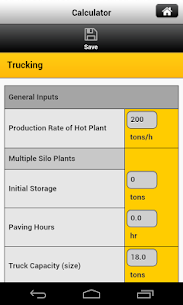 Caterpillar Paving Calculator  For Pc (Free Download On Windows 10, 8, 7) 2