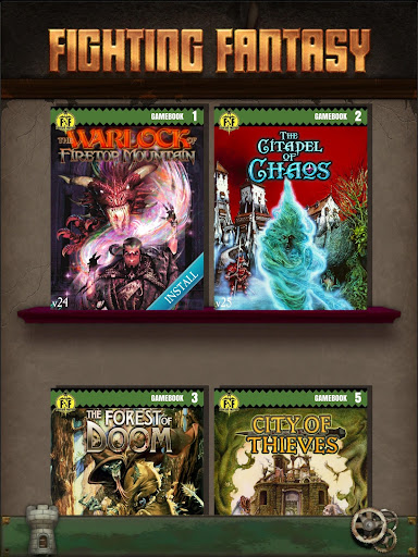 Fighting Fantasy Classics u2013 text based story game android2mod screenshots 5