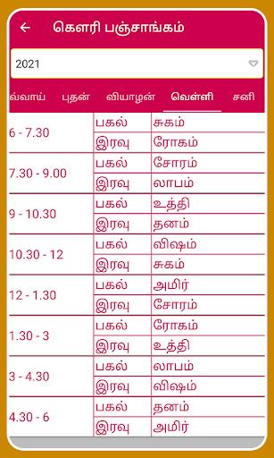 Tamil Calendar 2021 Tamil Calendar Panchangam 2021 6.4 Screenshots 22
