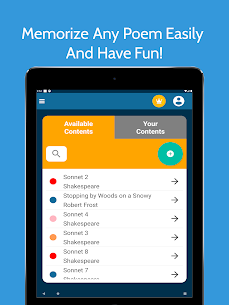 Memorize Anything Poems Speeches Mod Apk (Pro Unlocked) 9