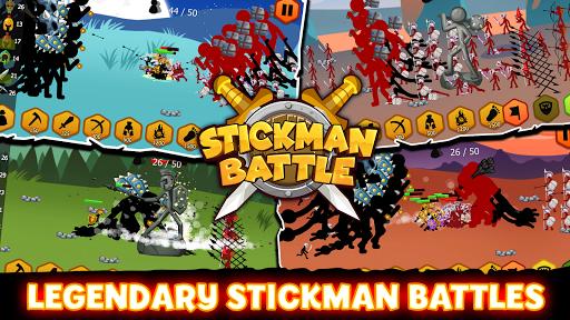 Stickman Battle 2021: Stick Fight War APK MOD screenshots 1