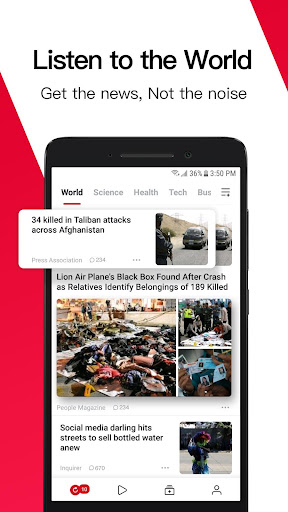 News Republic - Breaking and Trending News 12.7.0.01 screenshots 1