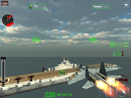 air force jet fighter combat screenshot 1