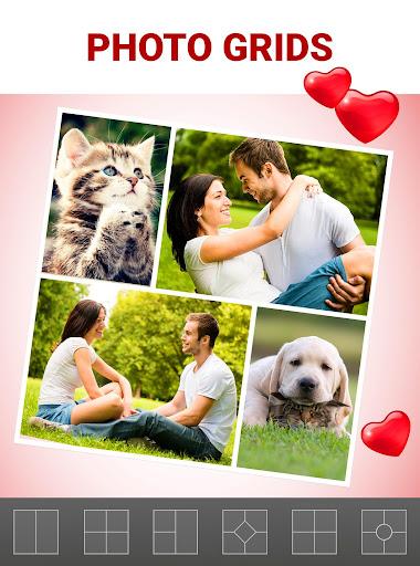 Love Collage Maker - Photo Editor & Heart Frames 2.4.8.22 screenshots 4