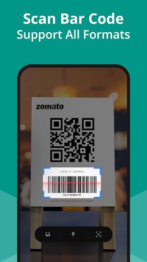 Free QR Code Scanner - Barcode Scanner & QR reader apktram screenshots 4