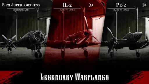 Warplane Inc. Dogfight War Arcade & Warplanes WW2 apktreat screenshots 2