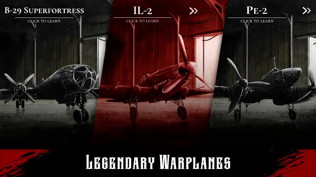 Warplane Inc. Dogfight War Arcade & Warplanes WW2  poster 1