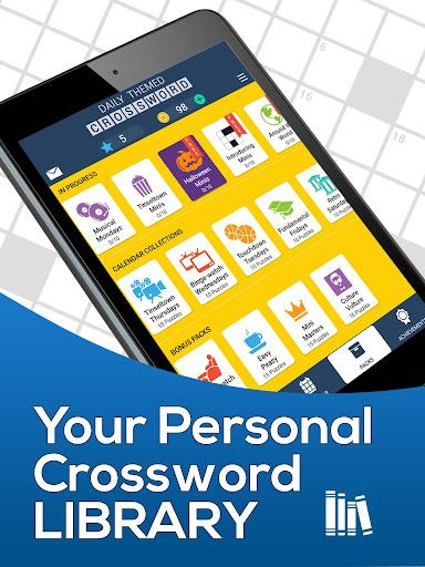 Daily Themed Crossword - A Fun crossword game 1.402.0 screenshots 23