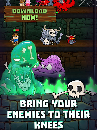 Idle Dungeon Heroes apkpoly screenshots 8